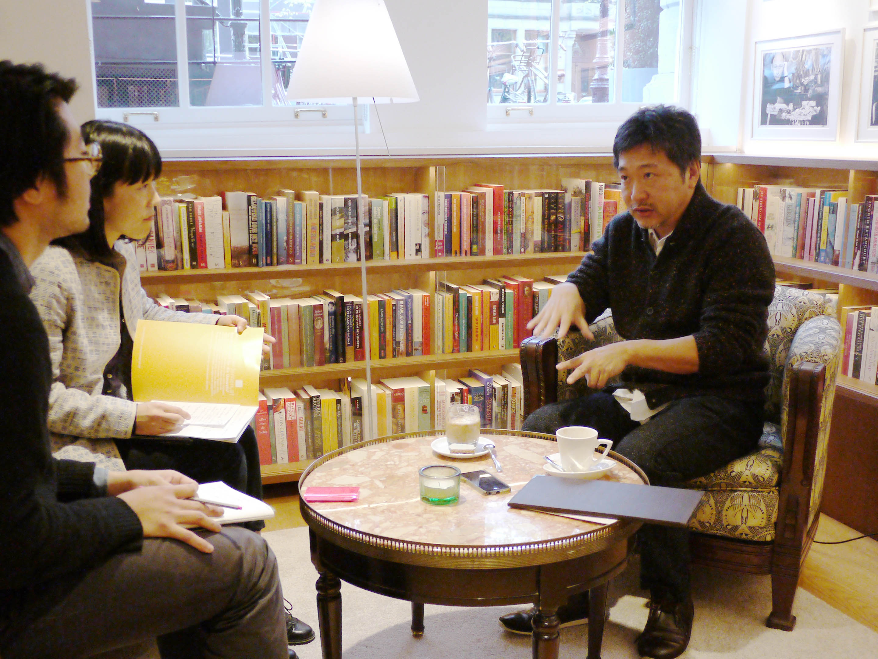 Interview with Mr. Kore-eda