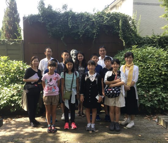 Japanese students' Study Tour in Holland